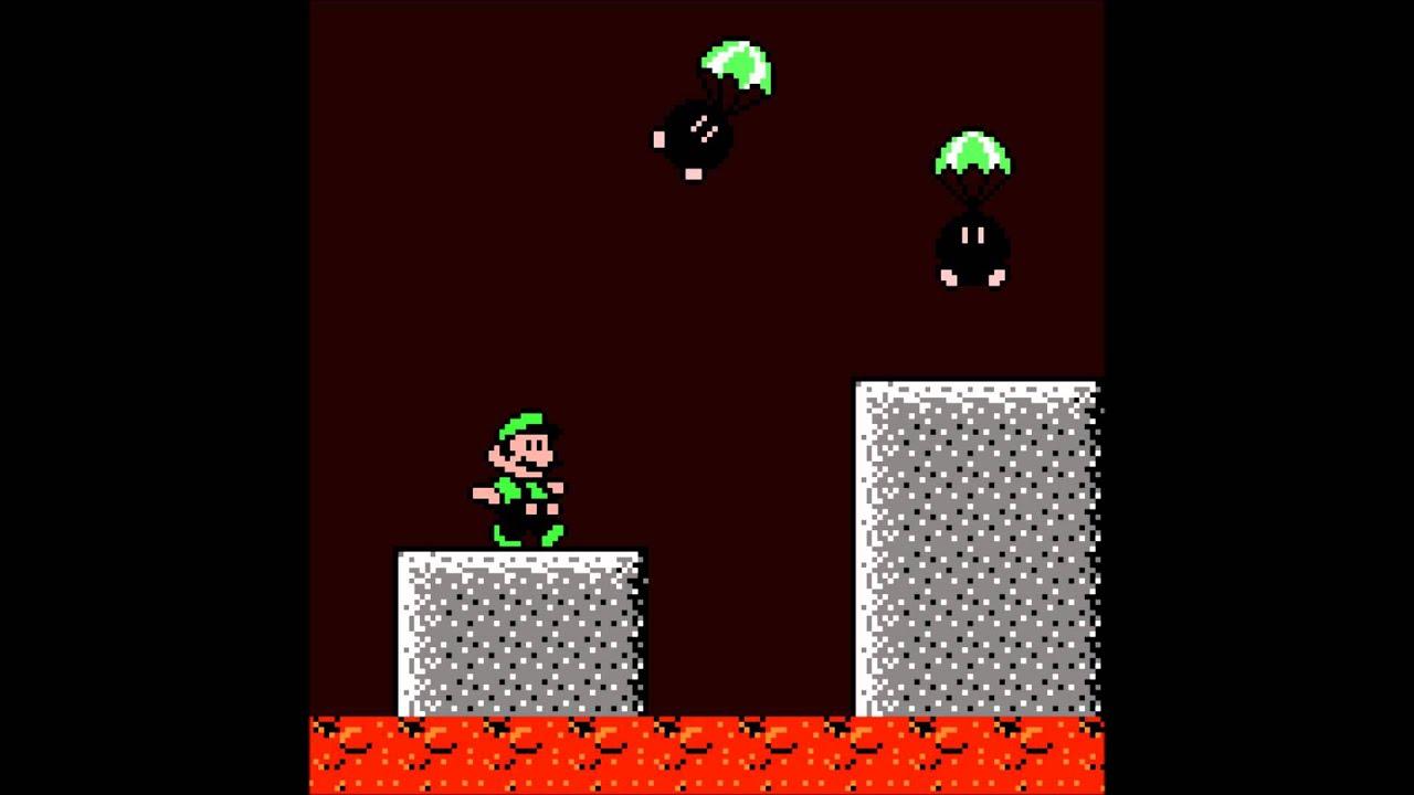 Volcano Overworld 8-BIT - New Super Mario Bros  Wii by Loeder