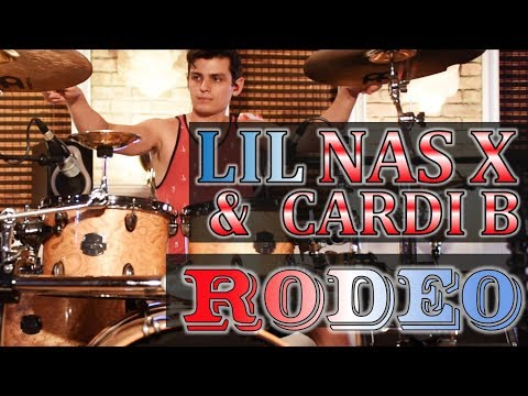 Lil Nas X, Cardi B - Rodeo   Drum Cover   Jake Tyler #9