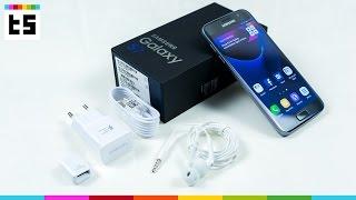 Unboxing: Galaxy S7 deutsch