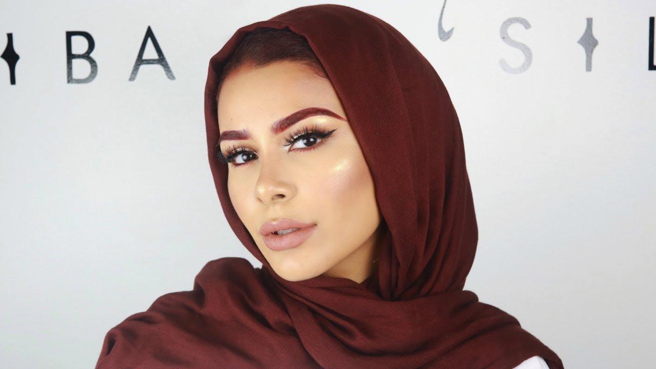 Red Brows GLAM | Habiba Da Silva - YouTube