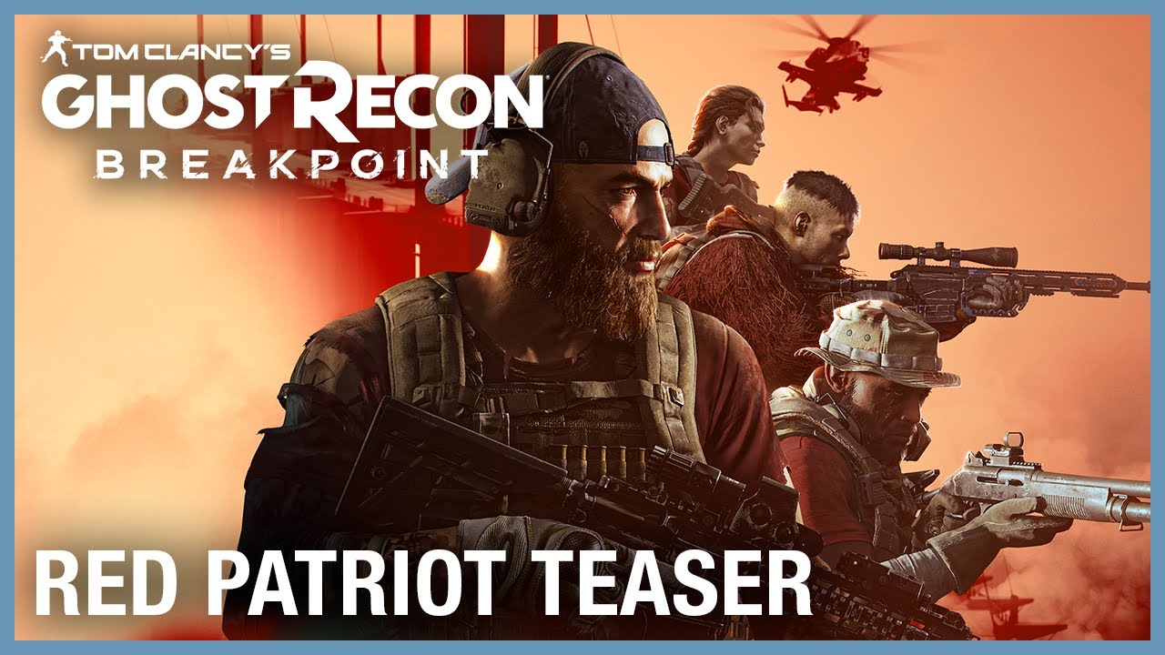Tom Clancy's Ghost Recon Breakpoint: Red Patriot Teaser | Ubisoft