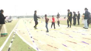 a m world school sports day girls i ii hurdle race