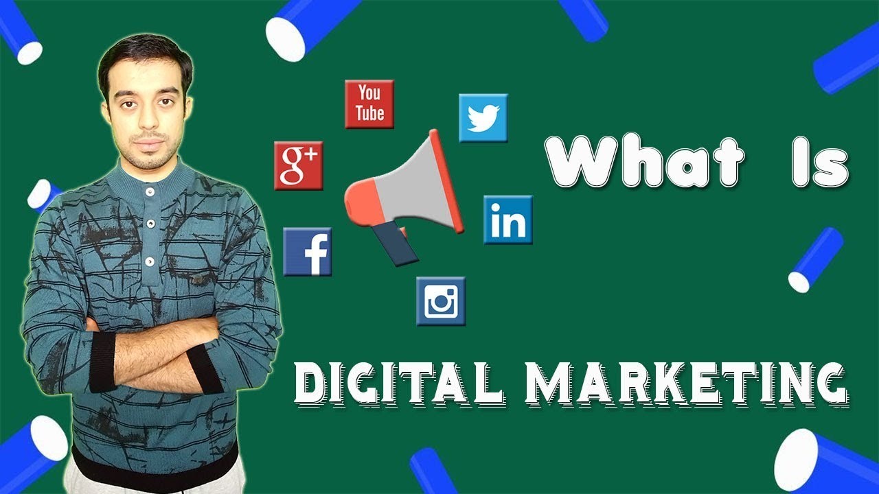 Of degree students, and more. What is Digital Marketing in Hindi - YouTube