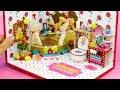 DIY Miniature Dollhouse Room - Belle Bathroom Decor