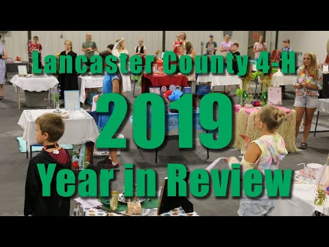 Lancaster County 4-H 2019 Year in Review