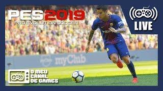 [Live] PES2019: Pro Evolution Soccer 2019 (PS4 Pro) - JOGANDO A DEMO AO VIVO