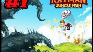 Rayman Jungle Run Gameplay