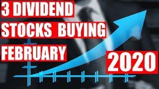 M1 Finance 3 Stocks I'm Buying This Week, 18 Feb 2020, Last Weeks Market Update & Big Dividends!