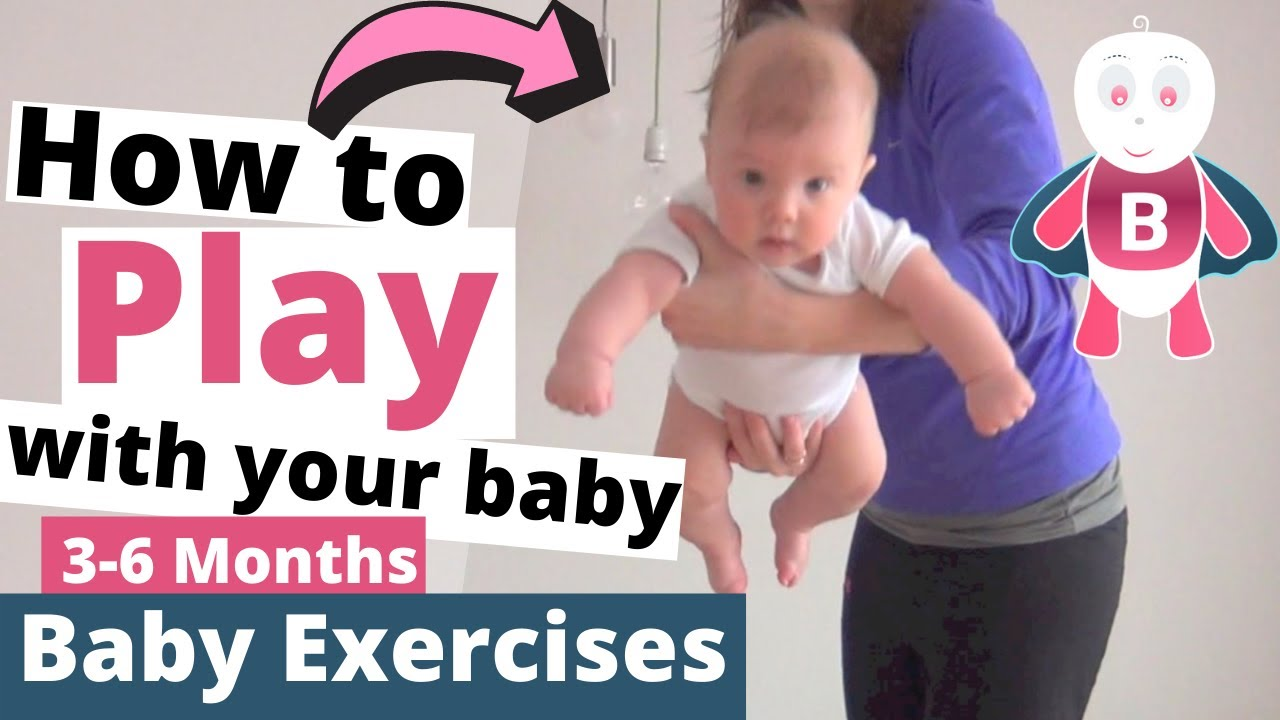 Baby Playtime Exercises 0 3 Months Super Baby Baby