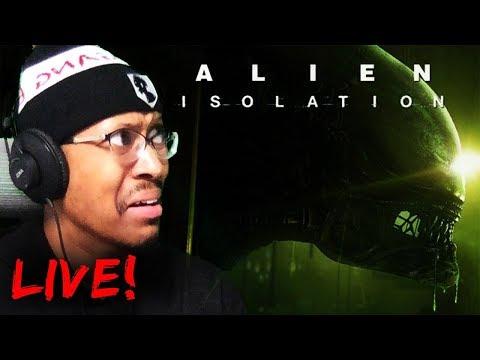 FRIDAY NIGHT FEAR   Alien: Isolation [LIVE!]