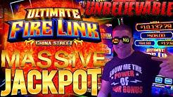 Ultimate Fire Link ✦HUGE HANDPAY JACKPOT✦ - $20 MAX BET 🔴 Huff N Puff Slot Machine Handpay Jackpot