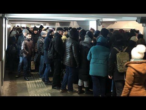 Правительство Москвы в ответе за коллапс в Выхино! / LIVE 17.12.18