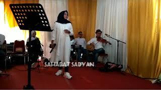YA HAYATI ROUH COVER BY SABYAN GAMBUS