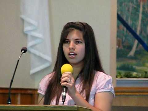 Me singing Amazing Grace in Cherokee