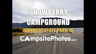 Snowberry Campground, Farragut State Park, Idaho