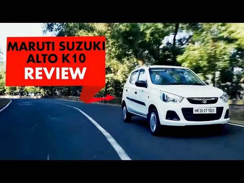 Maruti Suzuki Alto K10 : Review : PowerDrift