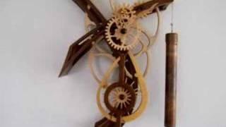Model T Wooden Gear Clock By Clayton Boyer