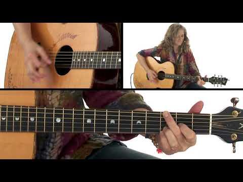 Acoustic Rhythm Guitar Lesson - Add Color Tones Performance - Vicki Genfan