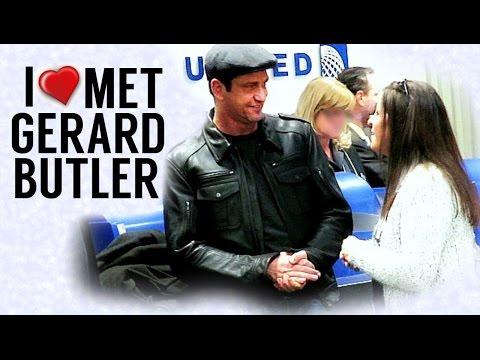 I Met Gerard Butler! - RAE-ANNtics