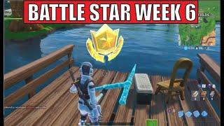 WEEK 6 SECRET BATTLE STAR LOCATION GUIDE SEASON 10 (Fortnite)