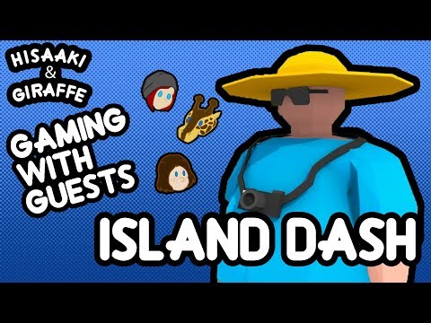 Hisaaki And Giraffe- Gaming With Guests: Island Dash