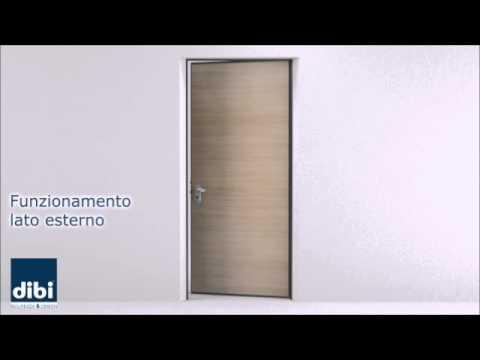 Meccanya - porta con chiusura meccanica automatica