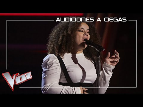 Carolina Gómez canta 'Remember me' | Audiciones a ciegas | La Voz Antena 3 2020