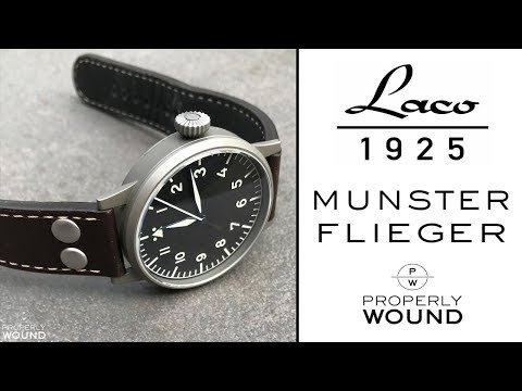 Laco Munster Flieger Review - Type A Dial Pilots Watch