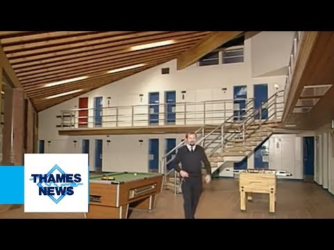 Feltham Young Offenders Institute | Thames News Archive Footage