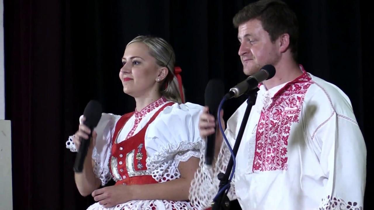 LANŽHOT-Dechová hudba MISTŘÍŇANKA a manželé UHROVI při uvedení nového 2 CD (část 1.)