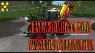 "[""FENDT FAVORIT 900 VARIO TMS SERIES V3.0 FINAL FULL"", ""FENDT"", ""FAVORIT"", ""VARIO"", ""FENDT FAVORIT 900 VARIO"", ""Mod Vorstellung Farming Simulator Ls17:FENDT FAVORIT 900 VARIO""]"
