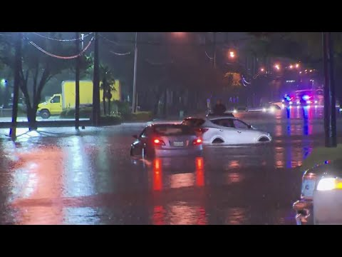 RAW VIDEO: Dallas Flooding, High Water