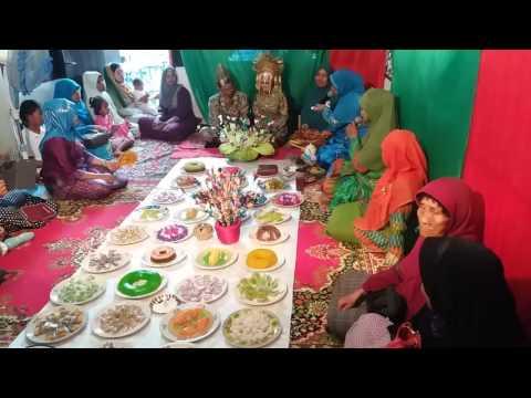 Makan Beradab adat Melayu Langkat Sumatera Utara