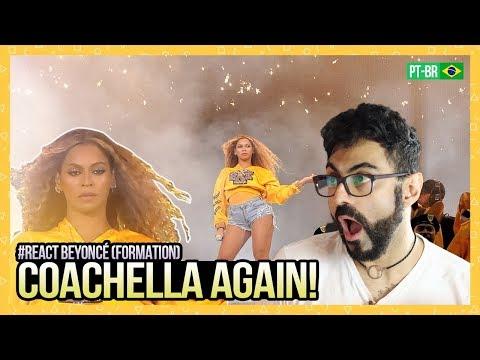 REAGINDO a Beyoncé - Formation + Sorry  COACHELLA 2018 -  3