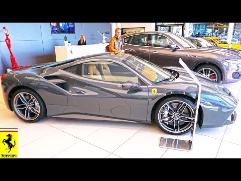 Ferrari in Germany 2016 4K Sports cars & Stuttgart Motorworld. Феррари в Германии.