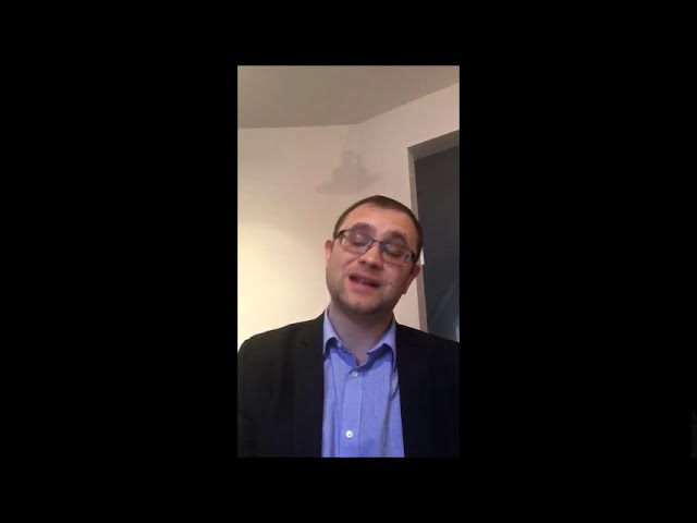 Video Message from Rabbi Knopf - May 7, 2020