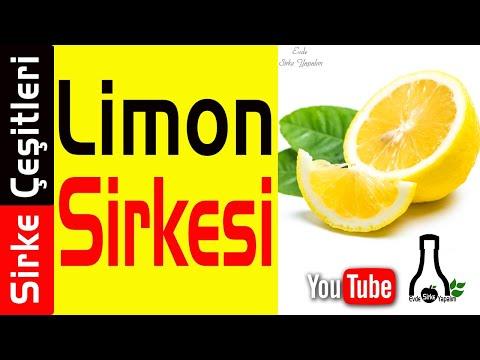 Evde Limon Sirkesi Yapımı Tarifi | Sirke Çeşitleri