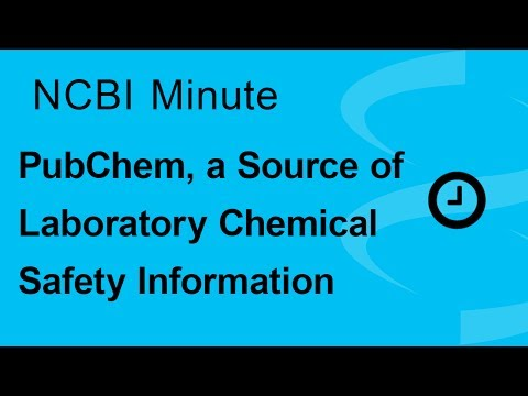 NCBI Minute: PubChem, a Source of Laboratory Chemical Safety