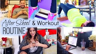 My After School & Workout Routine: Winter