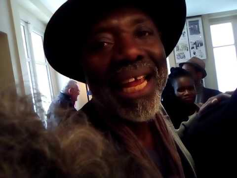 "Paris,31-3-2017/Projection film ""Rido Bayonne born in Africa"" du réalisateur angolais Dom Pedro(1)"