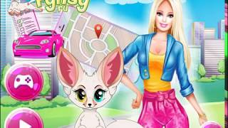 The schedule for Barbie  All things beauty  Online game for kids