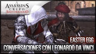Assassin's Creed Brotherhood   Easter Egg   La Confesión   Leonardo Da Vinci es Gay   SECRETO