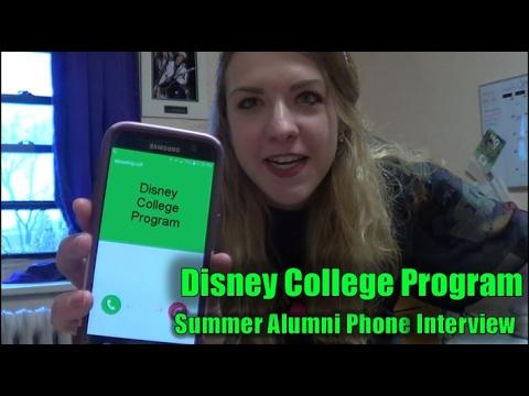 Summer Alumni Phone Interview | DCP Summer Alumni