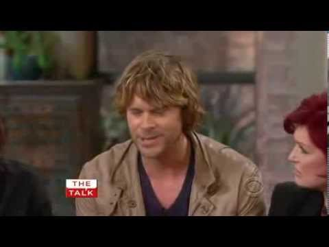 Eric Christian Olsen on The Talk 2011