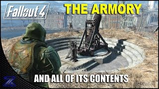 Fallout 4 - The Armory and Rewards Guide | HD 1080p.