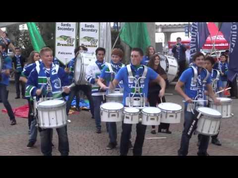 Sardis Drumline Oct 2013