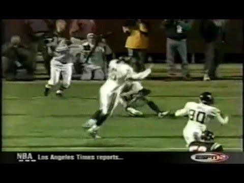 West Virginia vs Virginia Tech 2002- Grant Wiley