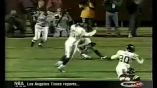 West Virginia vs Virginia Tech 2002- Grant Wiley