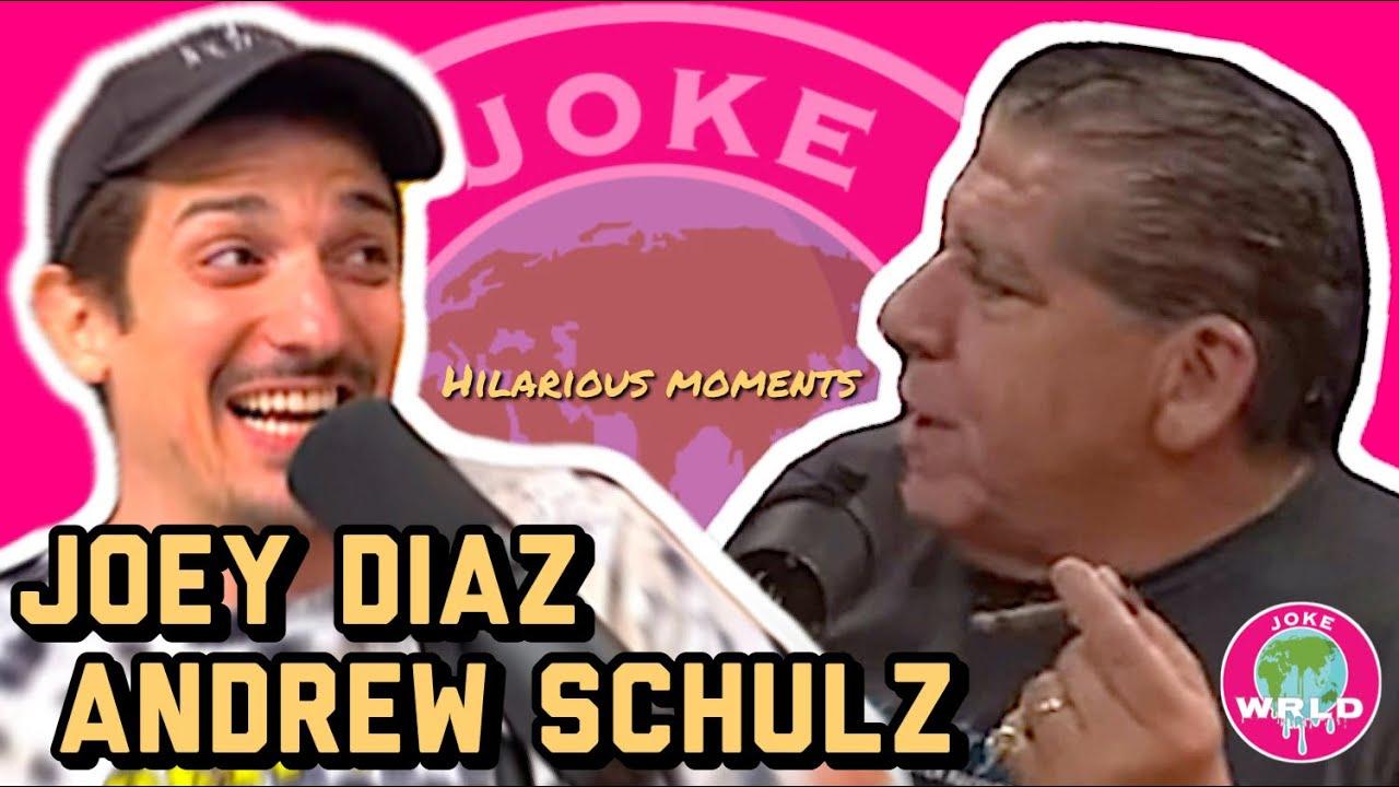 Best of Joey Diaz & Andrew Schulz - PART 1