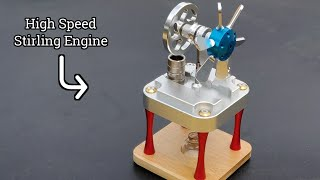 Most Powerful Stirling Engine